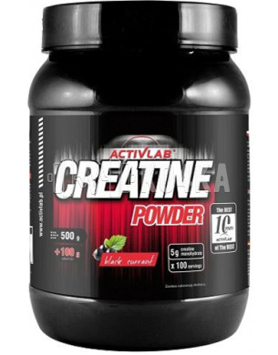 Фото Creatine Powder, Activlab. 500 g. (Креатин моногідрат)